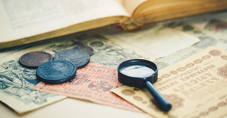 Zgodovina denarja